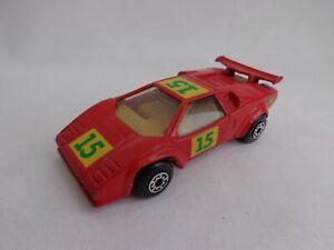 "Matchbox Toys Int'l MB11 Lamborghini Countach LP 5000S RARE DUTCH ""BP"" PROMO"