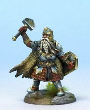 DARK SWORD MINIATURES - DSM7475 Male Dwarven Cleric w/Warhammer