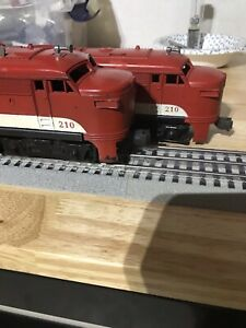 Lionel 210 Texas Special Alco AA Power and Dummy Units