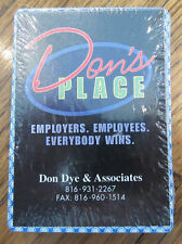 Deck Of Playing Cards Sealed Nip New Don'S Place