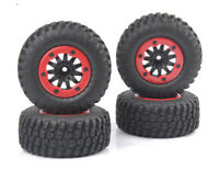 4Pcs Rc Sct Truck Wheel Tire Set for Traxxas Slash Hpi Blitz Associated rc10
