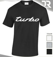 TURBO T SHIRT MENS SPEED GT3 CAR TOP VINTAGE SPORTS SPEED INSPIRED BY PORSCHE
