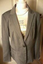 Marks Spencer Woman Grey not Black Wool Mix Size 14 Jacket Coat