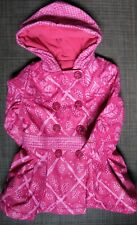 180107 Girl's 12 Months 74 cm CATIMINI  Fleece Lined Insulated Rain Jacket
