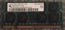 1GB SO-DIMM RAM - Hynix 1GB 2Rx8 PC2-5300S-555-12-E0 (DDR2-667)