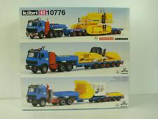 E1402) Kibri 10776 transport Liebherr Schmidbauer Goldhover HEAVY UNGEBAUT