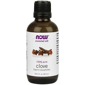 Now Foods CLOVE OIL 2 OZ Made in USA FREE SHIPPING