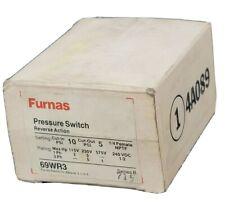 Nib Furnas 69wr3 Pressure Switch Reverse Action Ser B