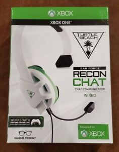 Turtle Beach Ear Force Recon Chat Wired Headset [ WHITE Edition ] (XBOX ONE) NEW