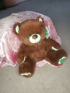 Build A Bear Girl Scouts Teddy Bear Mint Green & Chocolate Thin Mints NWT New