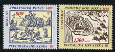 CROATIA 1993 CROATIAN BATTLES/SOLDIERS/HORSES/CASTLE/HISTORY