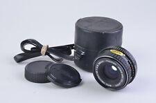 EXC++ PENTAX-M SMC 28mm f2.8 WIDE ANGLE LENS, CAPS, CASE, K-MOUNT, NICE!