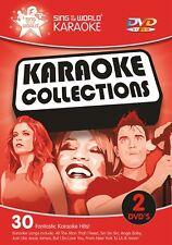 Sing to the World Karaoke Karaoke Collections - 2 DVD discs (30 tracks)