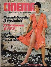 NEW CINEMA # 8 / 1971 gianni morandi patrizia viotti russ meyer nancy gresham