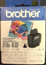 Genuine Brother Inkjet ink Cartridge LC41BK Black Printer Tank NIB Sealed Unit