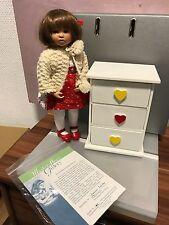 Gabriele Müller muñeca de porcelana Greta 28 cm. top estado