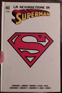 LA RESURREZIONE DI SUPERMAN - DC COMICS LION RW -  Due segni su copertina