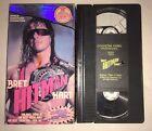 "WWF - Bret ""Hitman"" Hart (VHS, 1994) COLISEUM VIDEO WWE WCW NWO RARE"