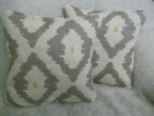 "PATAGONIA BY JOHN LEWIS 1 PAIR OF 18"" CUSHION COVERS DOUBLE SIDED ZIP OFF COVER"