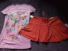 NEW WOMENS JUNIORS AEROPOSTALE TOP & SKIRT OUTFIT SIZE SMALL SUMMER CLOTHES