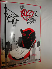 "Air Jordan 2010 Outdoor Poster 24"" x 35 3/4"" For the Love of the Game Nike Air"