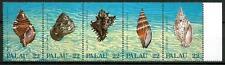 PALAU - 1987 - Conchiglie. 3° serie