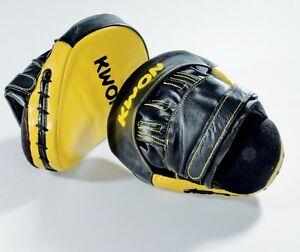Coaching Mitt Paar Leder KWON.Boxen,Kickboxen,Muay Thai