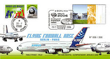 "FFC ALLEMAGNE-FRANCE ""Airbus A380 Flying Football Nose - Vol Berlin-Paris"" 2006"
