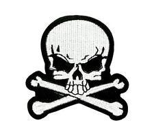 Patch ecusson brodé  backpack tete de mort skull moto thermocollant R3