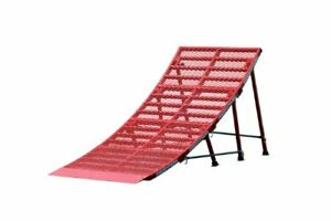 New Freshpark Ricky Johnson Portable Moto and Bike Jump Ramp (Red, Large)