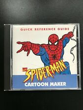 Spiderman Cartoon Maker Pc Cd create animations sound effects Original Manual