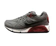 NEW Mens Nike Air Max IVO Running Shoes Gray Maroon Black White Sz 10 - MSRP$100