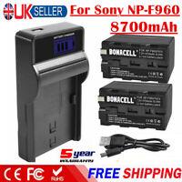 Cargador De Batería Para Sony Np-f970 Np-f960 np-770 C116