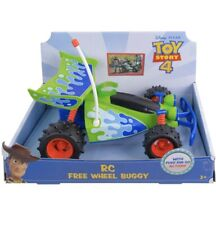 Authentic Disney Pixar Toy Story 4 RC Free Wheel Buggy New Push and Go