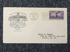 1944 Omaha Mayio Nebr. Envelope with Blank Paper