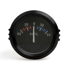 52mm 2Inch Ammeter 60-0-60 AMP Motor Auto Car Gauge Meter Voltmeter Gauge