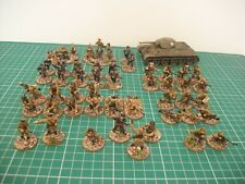 Painted 28mm WW2 Bolt Action Soviet stalingard 1000 point army miniatures