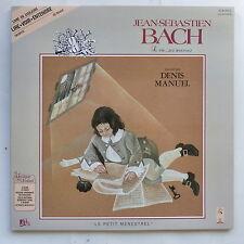 Livre disque BACH Sa vie ses oeuvres DENIS MANUEL ALB 6012 Autre pochette
