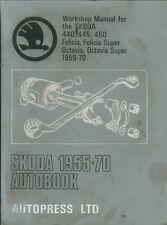 SKODA FELICIA & OCTAVIA / SUPER 440 445 450 ( 1955 - 1970 ) OWNERS REPAIR MANUAL