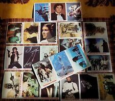 Burger King vintage Star Wars Trading Cards 1977 1980