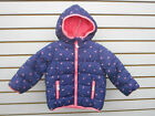 Infant  Toddler Girls Assorted Style Hooded Puffer Jackets Sizes 24 Month  3T