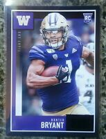 2020 Score Football - Black Retail Exclusive - Hunter Bryant Rookie #406