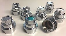 8 NEW CHROME Lug Nut COVERS CHEVY GMC SILVERADO 1500 2500 FULL SIZE TRUCK VAN