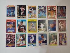 Nolan Ryan Baseball Cards Set of 18 cards