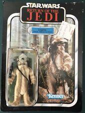 Star Wars Kenner Vintage Teebo the Ewok 1983 Cut Card ROTJ MOC Sealed Macau COO