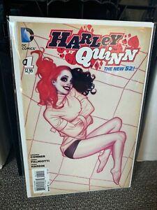 Harley Quinn  #1 (2014) Adam Hughes 1:25 Variant Cover ~ High Grade ~ 1st Print