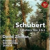 Schubert: Symphonies Nos. 5 & 6, David Zinman CD | 0887254633624 | New