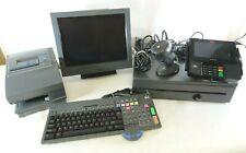 Toshiba SurePos 500 Type 4852-570 With Cash Drawer, Printer, Pinpad, Keys & More