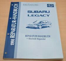 SUBARU Legacy 1998 Reparatur Handbuch Abschnitt Reparatur Ergänzung