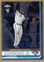 VLADIMIR GUERRERO JR. 2019 Topps Chrome Update Rookie Debut Card #US58 Jays RC